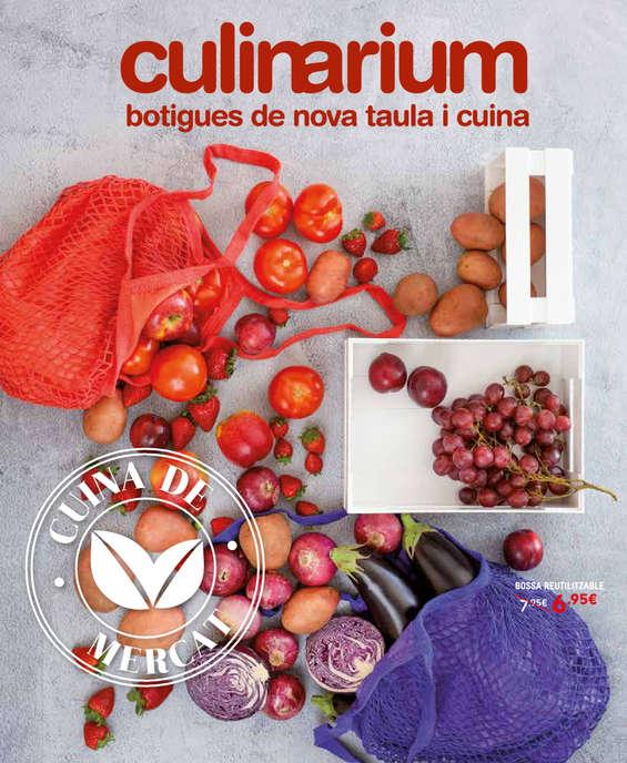 Ofertas de Culinarium, fulleto culinarium