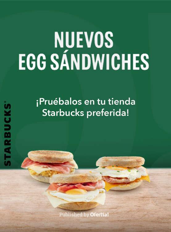 Ofertas de Starbucks, Nuevos Egg Sándwiches