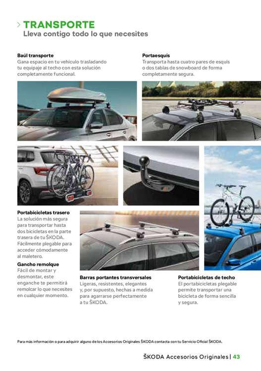 Ofertas de SKODA, Catálogo de servicio SKODA 2019