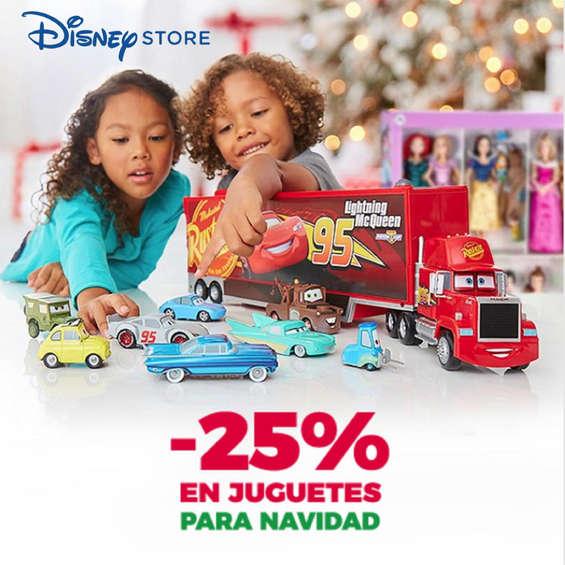 Ofertas de Disney Store, 25% en juguetes