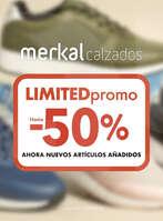 Ofertas de Merkal, Limited promo. Hasta -50%