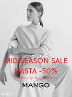 Ofertas de MANGO, Mid Season Sale hasta -50%