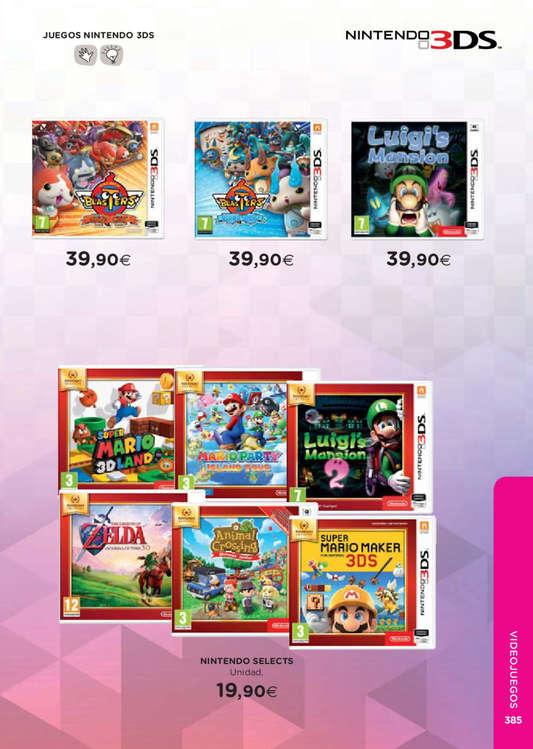 Comprar Juegos Nintendo 3ds Barato En Valladolid Ofertia