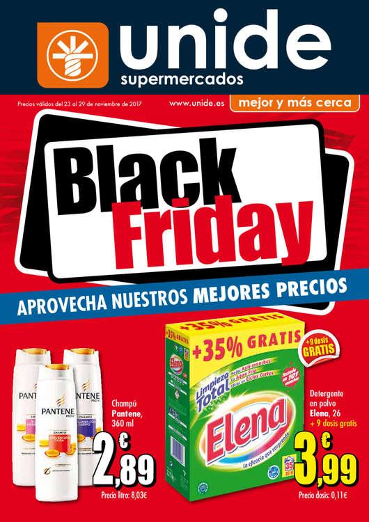 Ofertas de Supermercados Unide, Black Friday