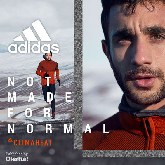 Ofertas de Adidas, Climaheat. Not made for normal