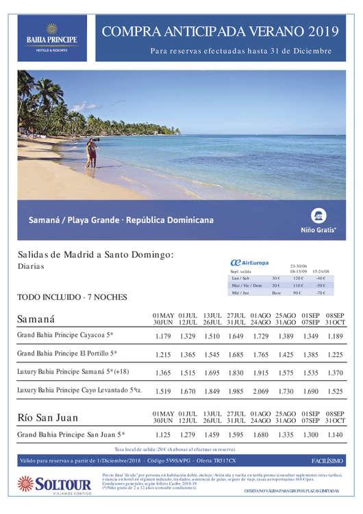 Ofertas de Soltour, República Dominicana
