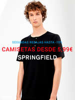 Ofertas de Springfield, Camisetas desde 5,99€