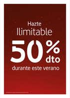 Ofertas de Vodafone, Hazte Ilimitable - 50% dto durante este verano