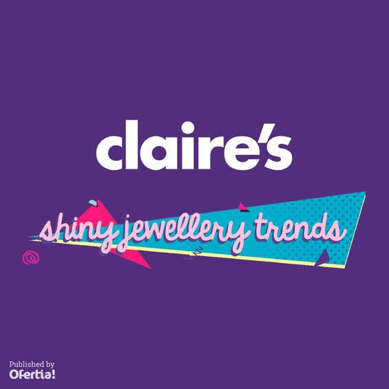 Ofertas de Claire's, Shiny jewellery trends