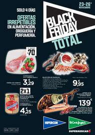 Black Friday. Ofertas irrepetibles en alimentación, droguería y perfumería