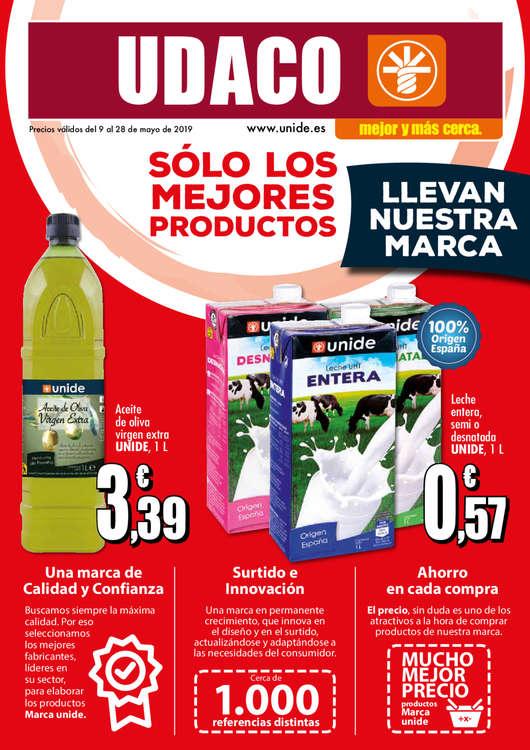 Ofertas de Supermercados Udaco, Solo los mejores productos llevan nuestra marca