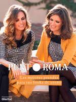 Ofertas de Punt Roma, Las mejores prendas para tus looks de otoño