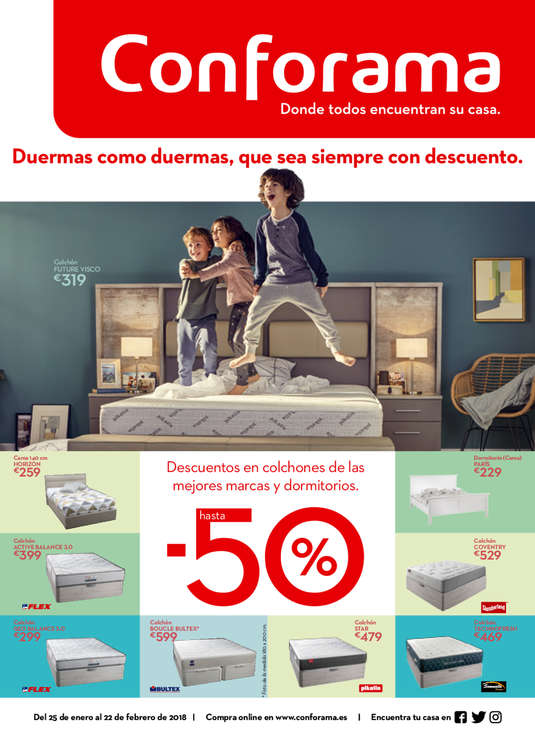 Conforama ofertas cat logo y folletos ofertia - Catalogo ofertas merkamueble ...