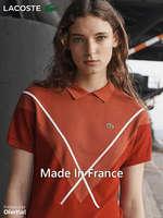 Ofertas de Lacoste, Made In France