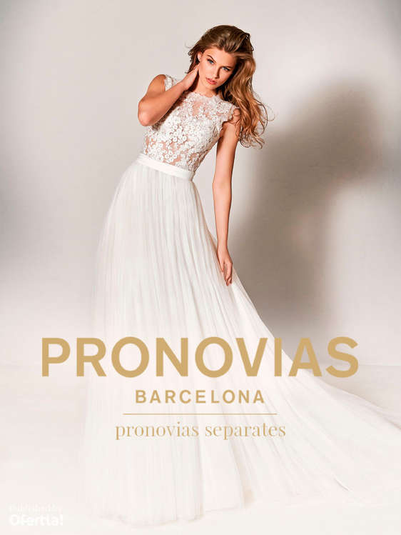 Ofertas de Pronovias, Pronovias Separates