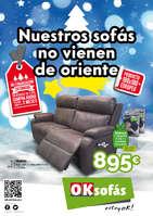Ofertas de OKSofas, Nuestros sofás no vienen de Oriente