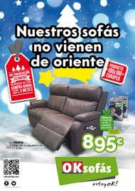 Nuestros sofás no vienen de Oriente