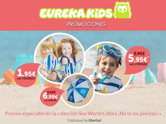 Ofertas de Eurekakids, Promociones Eurekakids
