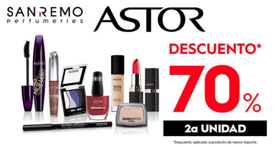 Ofertas de Perfumerías San Remo, Astor