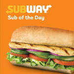 Ofertas de Subway, Sub of The Day
