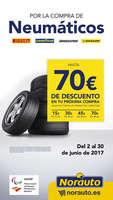 Ofertas de Norauto, Hasta 70€ de descuento en tu próxima compra