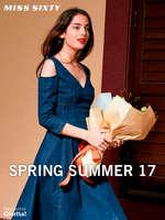 Ofertas de Miss Sixty, Spring Summer 17