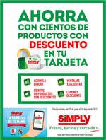 Ofertas de Simply, Ahorra en cientos de productos