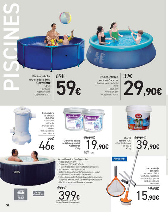 Comprar piscina hinchable barato en reus ofertia for Carrefour piscina hinchable
