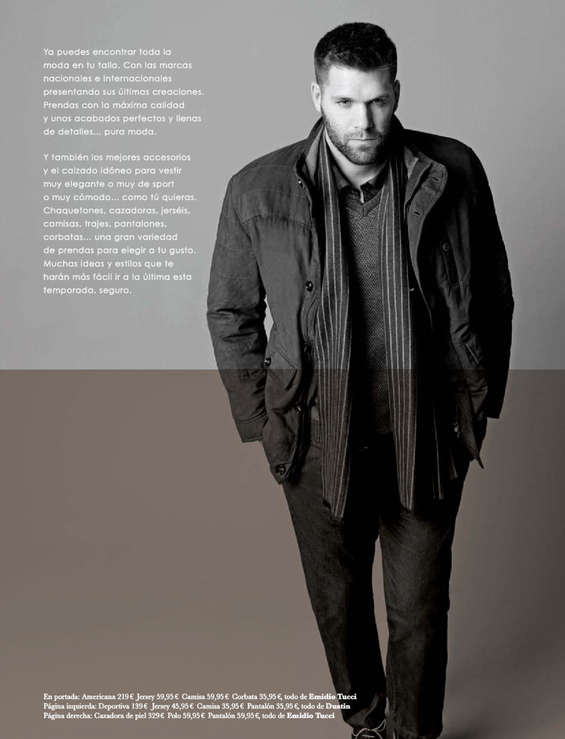Ofertas de El Corte Inglés, Felipe Reyes es Big Man