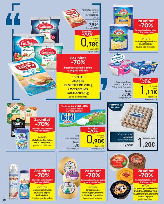 Ofertas de Carrefour, 2a unitat -70% en més de 3.000 artícles