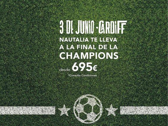 Ofertas de Nautalia, Nautalia te lleva a la final de la Champions