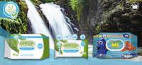 Nuevo papel higiénico húmedo WC Bosque Verde