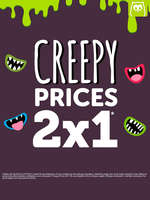 Ofertas de Eurekakids, Creepy prices 2x1