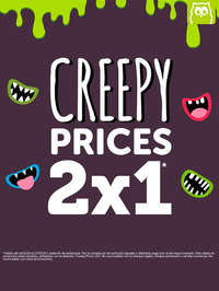 Creepy prices 2x1