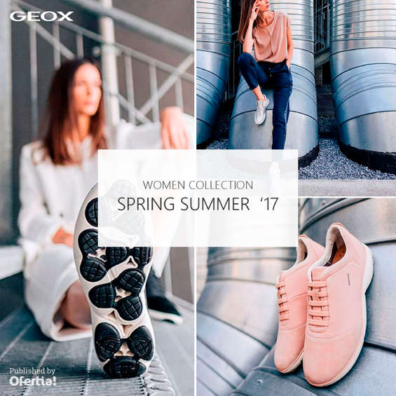 Ofertas de Geox, Women Collection. Spring Summer'17