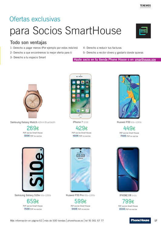 Ofertas de Phone House, Julio