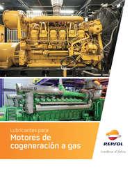 Lubricante para Motores de cogeneración a gas