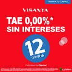 Ofertas de Visanta, Tae 0,00%* sin intereses