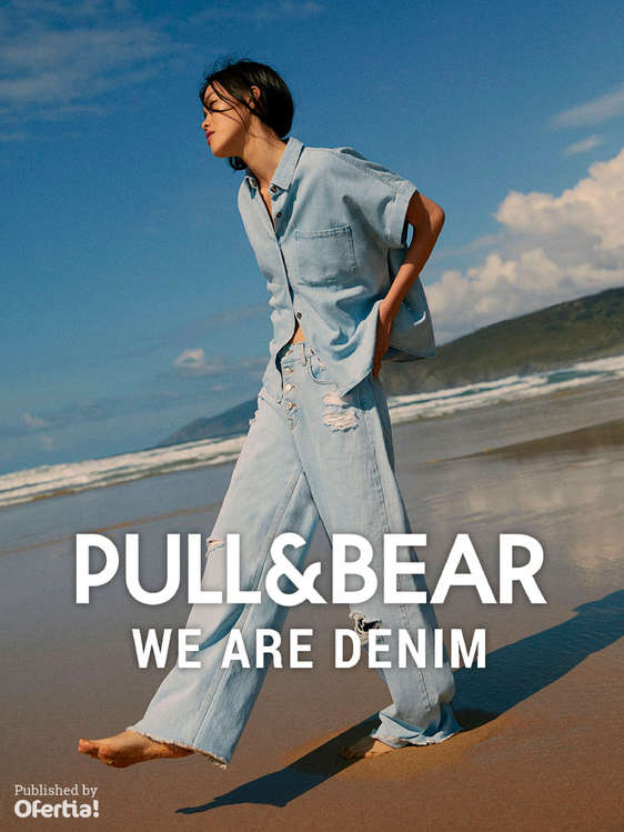 Ofertas de PULL & BEAR, We are denim