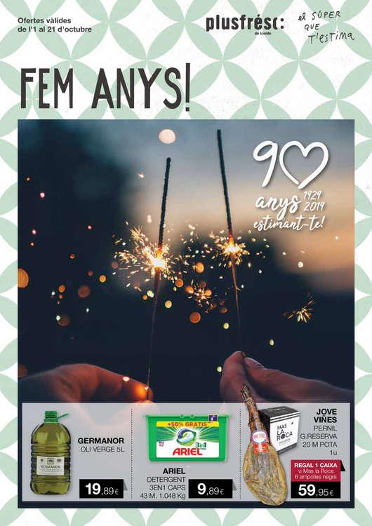 Ofertas de Plusfresc, 2019_09_ANIVERSARI_90_v6_web