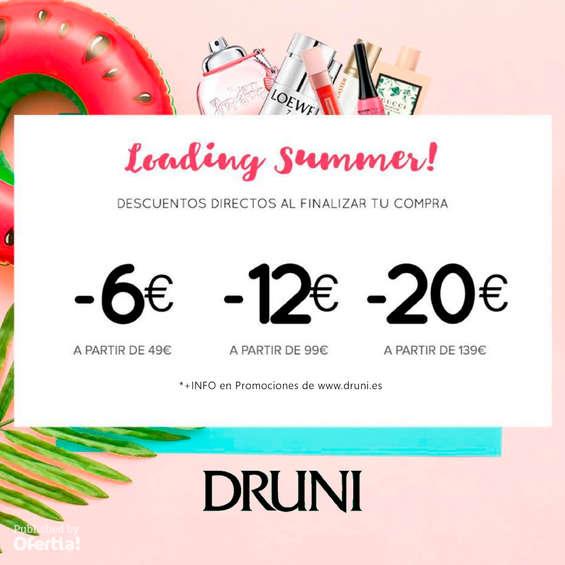 Ofertas de Druni, Loading summer!