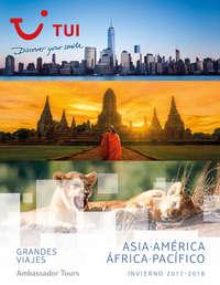 Asia, América, África y Pacífico
