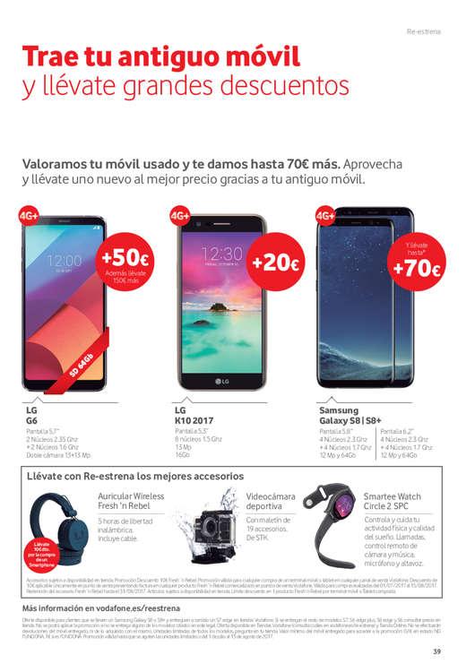 Ofertas de Vodafone, Verano