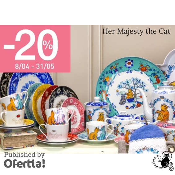 Ofertas de A Loja Do Gato Preto, Her Majesty the Cat
