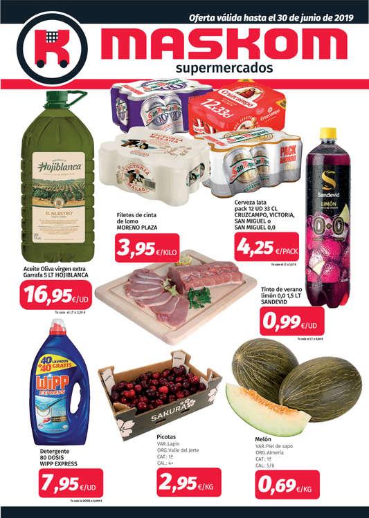 Ofertas de Maskom Supermercados, Junio