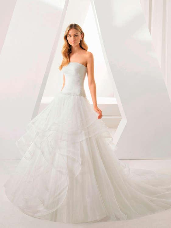 comprar vestidos de novia con cola barato en elx - ofertia