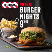 Viernes Burger Nights