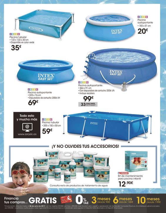 Comprar piscina desmontable barato en ourense ofertia for Piscina rectangular desmontable carrefour