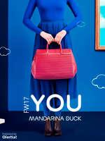 Ofertas de Mandarina Duck, FW17. You