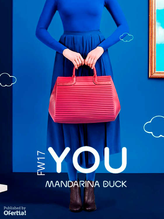 Ofertas de Mandarina Duck, FW17. You